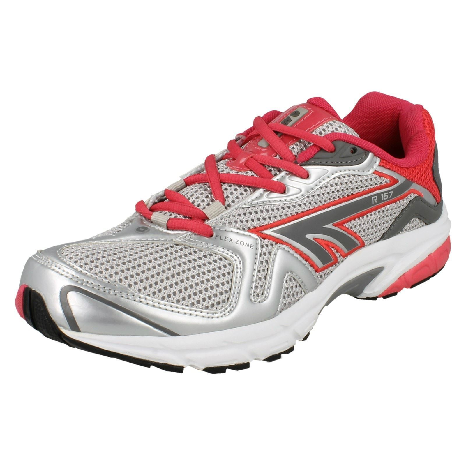 LADIES HI-TEC LACE UP RUNNING TRAINERS SPORTS FITNESS SHOES R157 £9.99