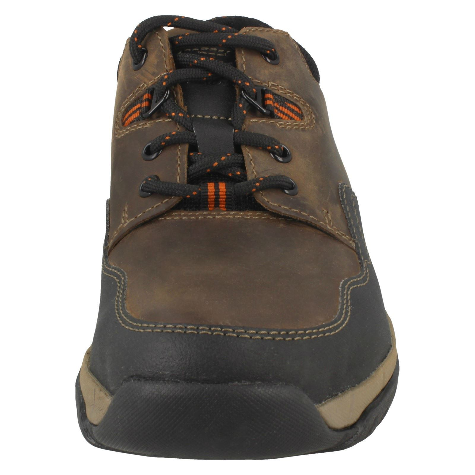 Herren Clarks Waterproof Casual Schuhes Lace Up Schuhes Casual Label - Walbeck Edge II e02f15