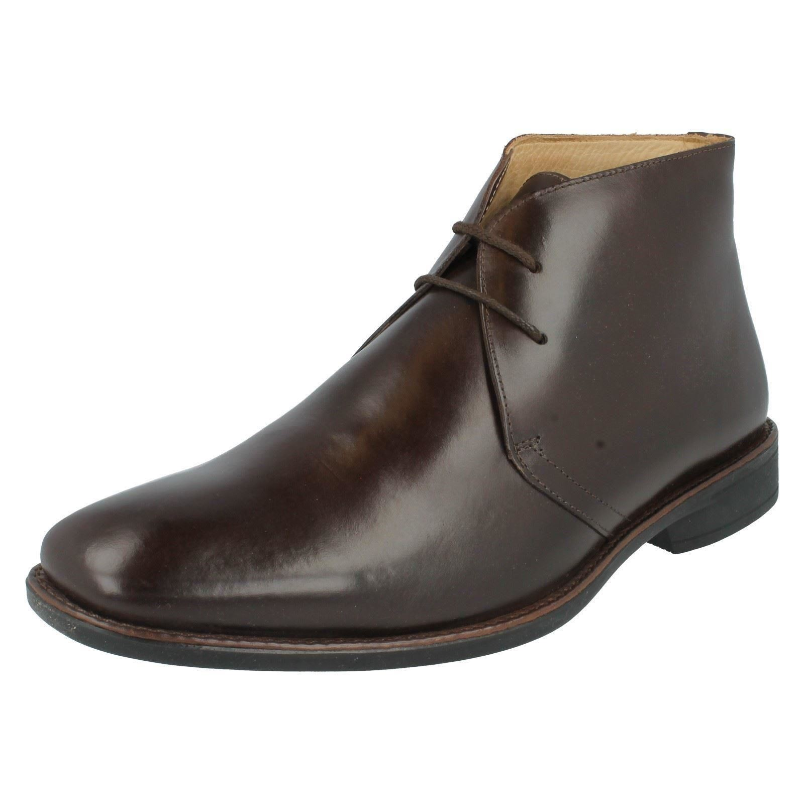 Anatomic 929224LB Touch Mens Lace Ankle Boots ~ Available in Black & Coffee~