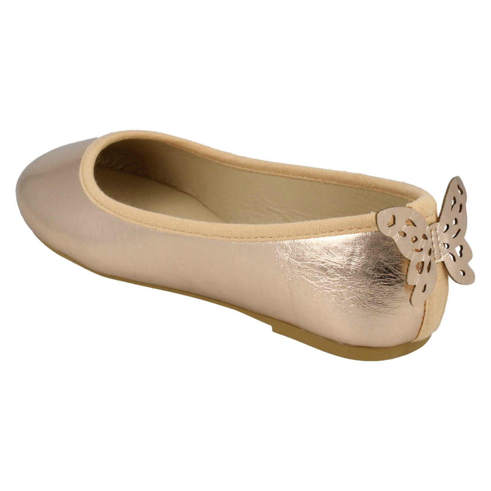 Zapatos Planos Chicas Spot on Estilo-H2430-D