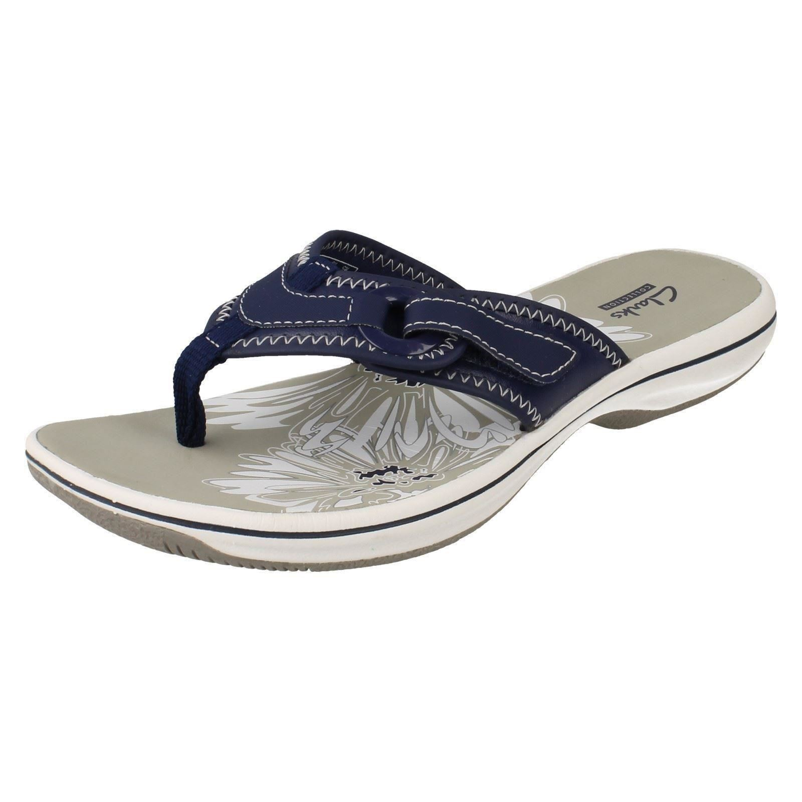 Clarks Shoes White Sandals