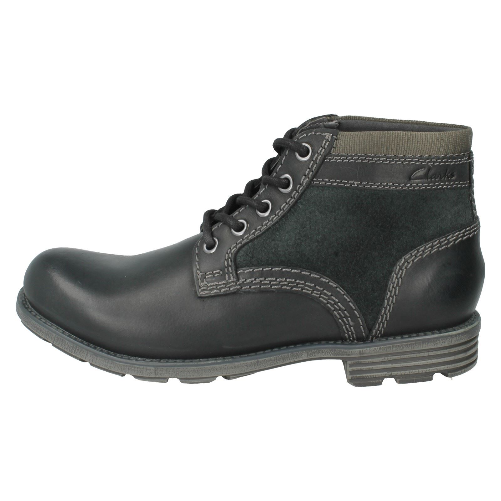 Hombres Clarks Casual Ankle botas Label Label Label -  Darian Mid f9c840
