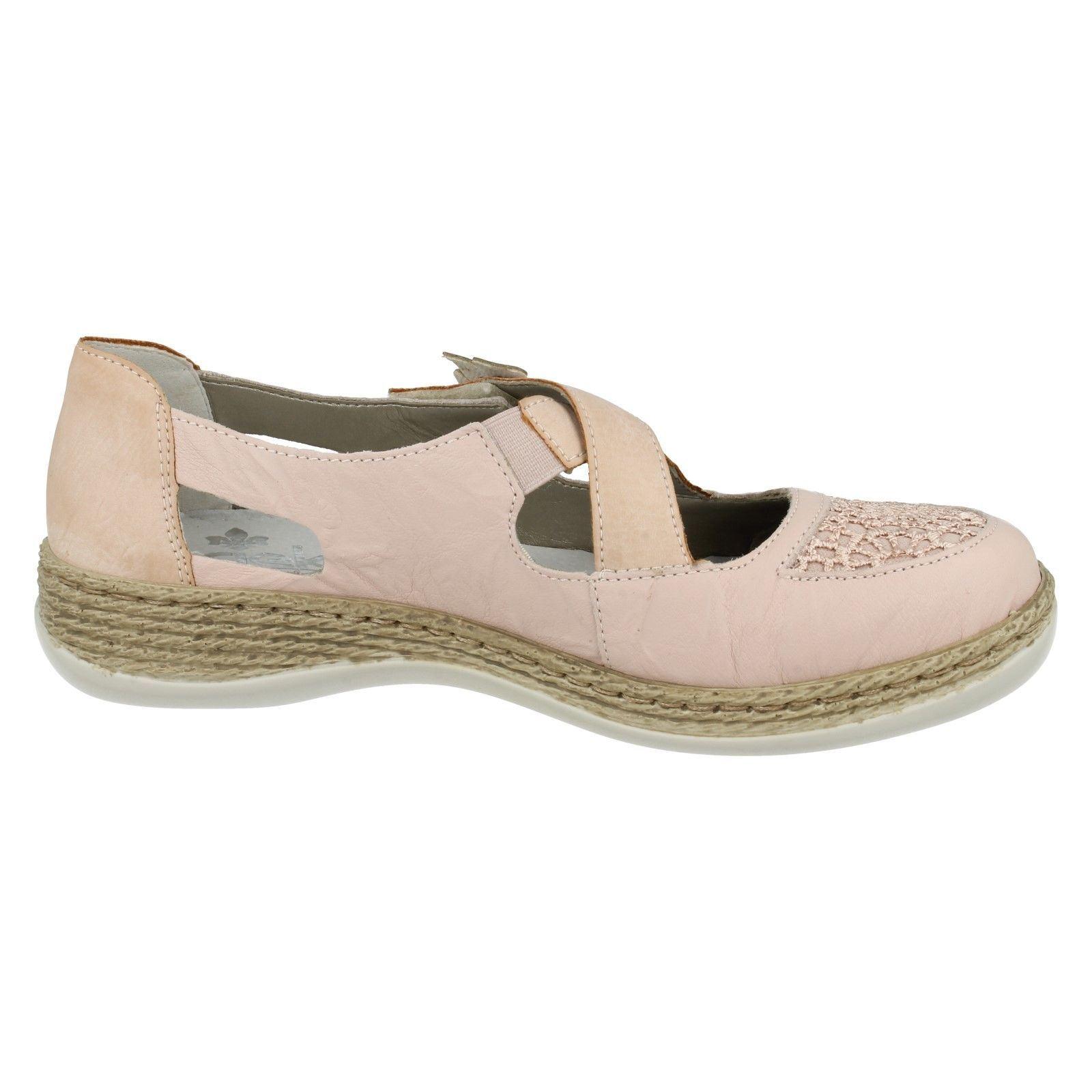 Ladies Le Rieker Rosa Style 464h0 Flats Jane Mary rrxTIB