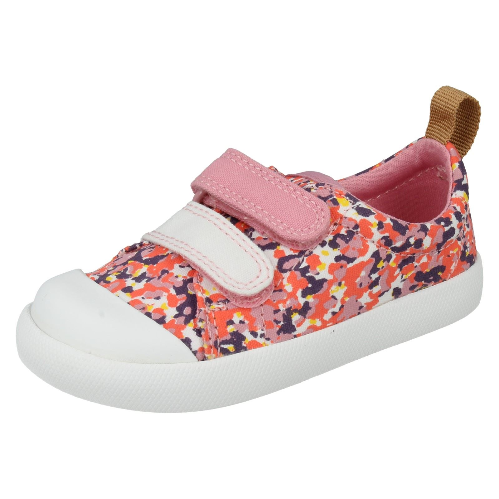 Girls Clarks Doodles First Shoes Label Halcy Hati