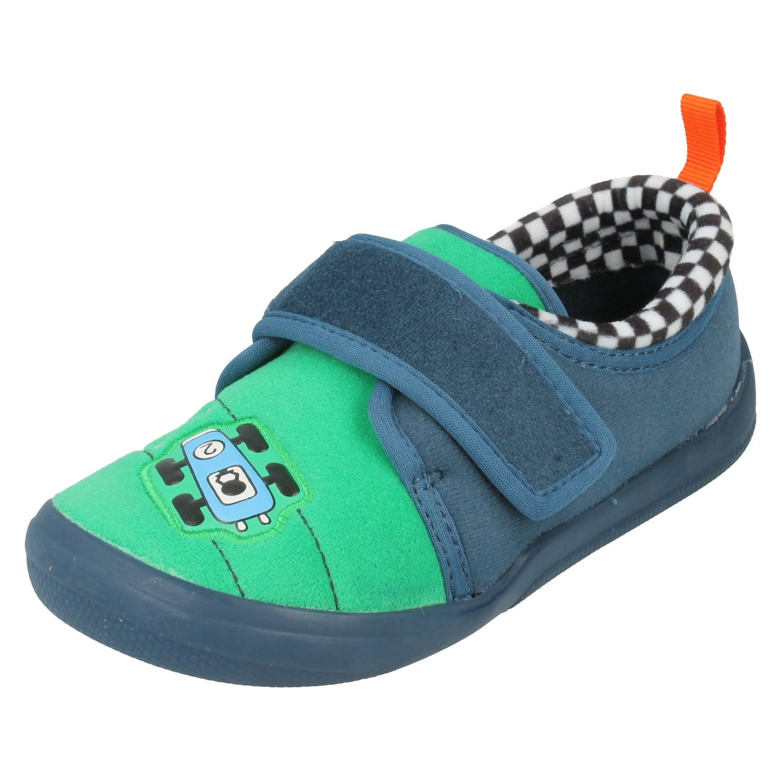Boys Clarks Slippers The Style - Cuba pace