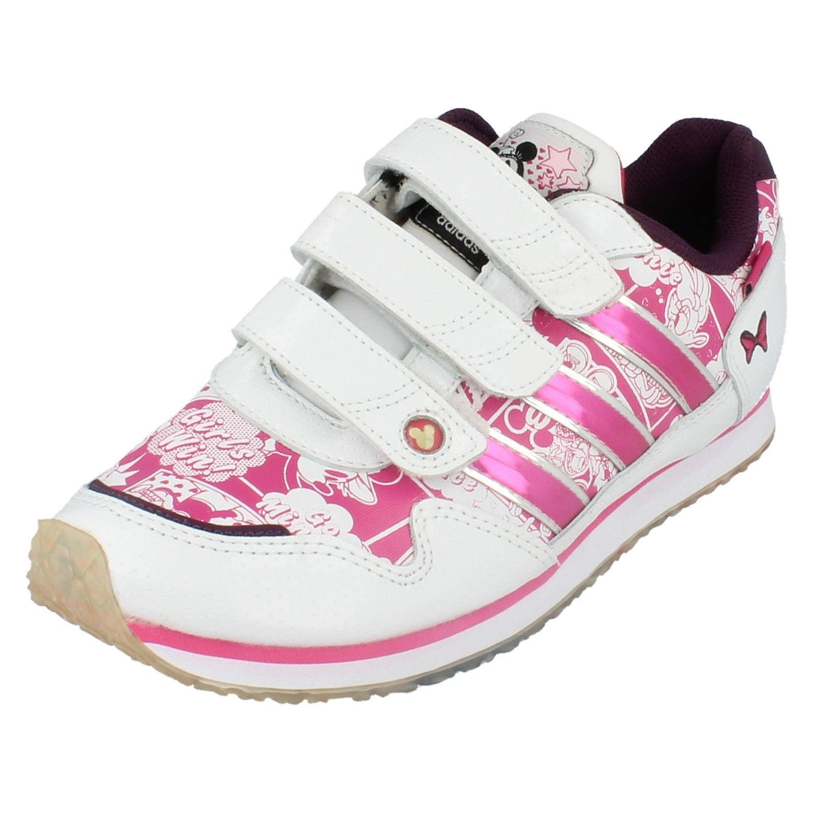 Girls Adidas Trainer Disney StreetRun ~ N