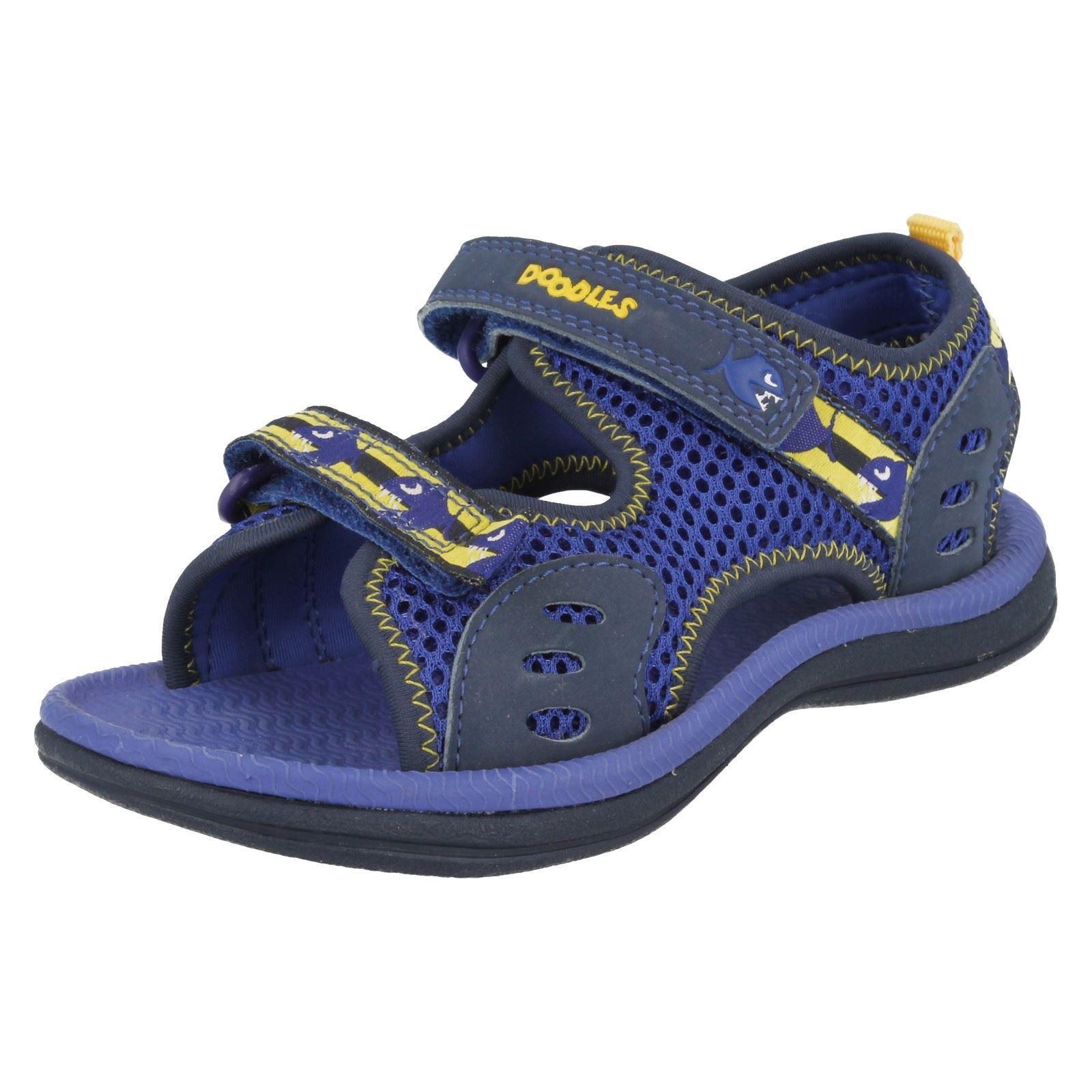 Boys Clarks Sandals Label Piranha Boy
