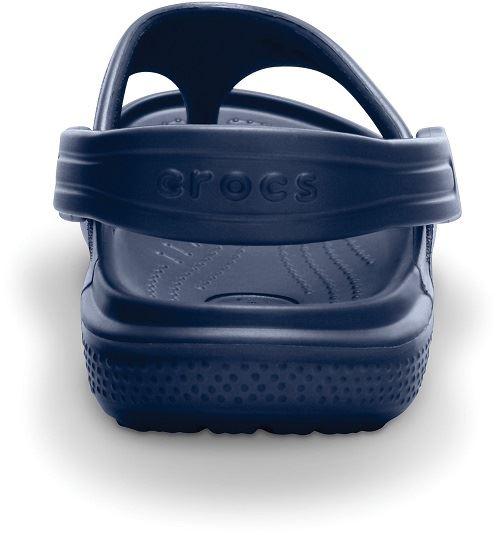 Chicos Crocs 'BAYA FLIP' slingaback Toe Post Sandalias ~ K