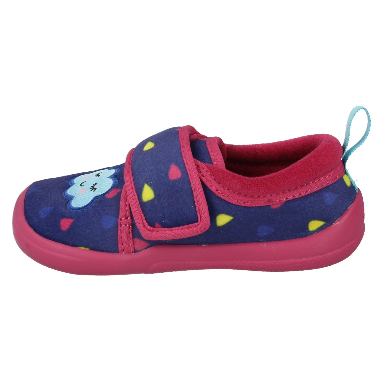 Girls Clarks Slippers The Style - Cuba Pip