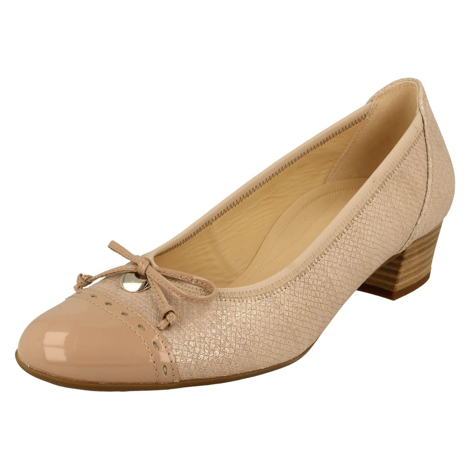 Womens Comfort Closed-Toe Pumps, Beige (Skin/Nude 82), 3 Gabor