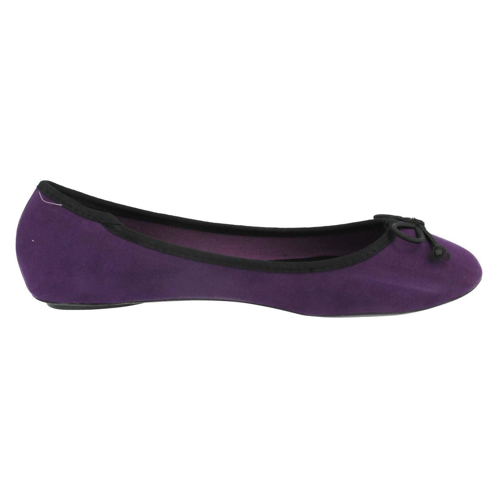 Señoras Spot En Pisos Zapatos Etiqueta f8855