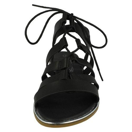 Sandalias de verano señoras de punto en F0939 ~ K