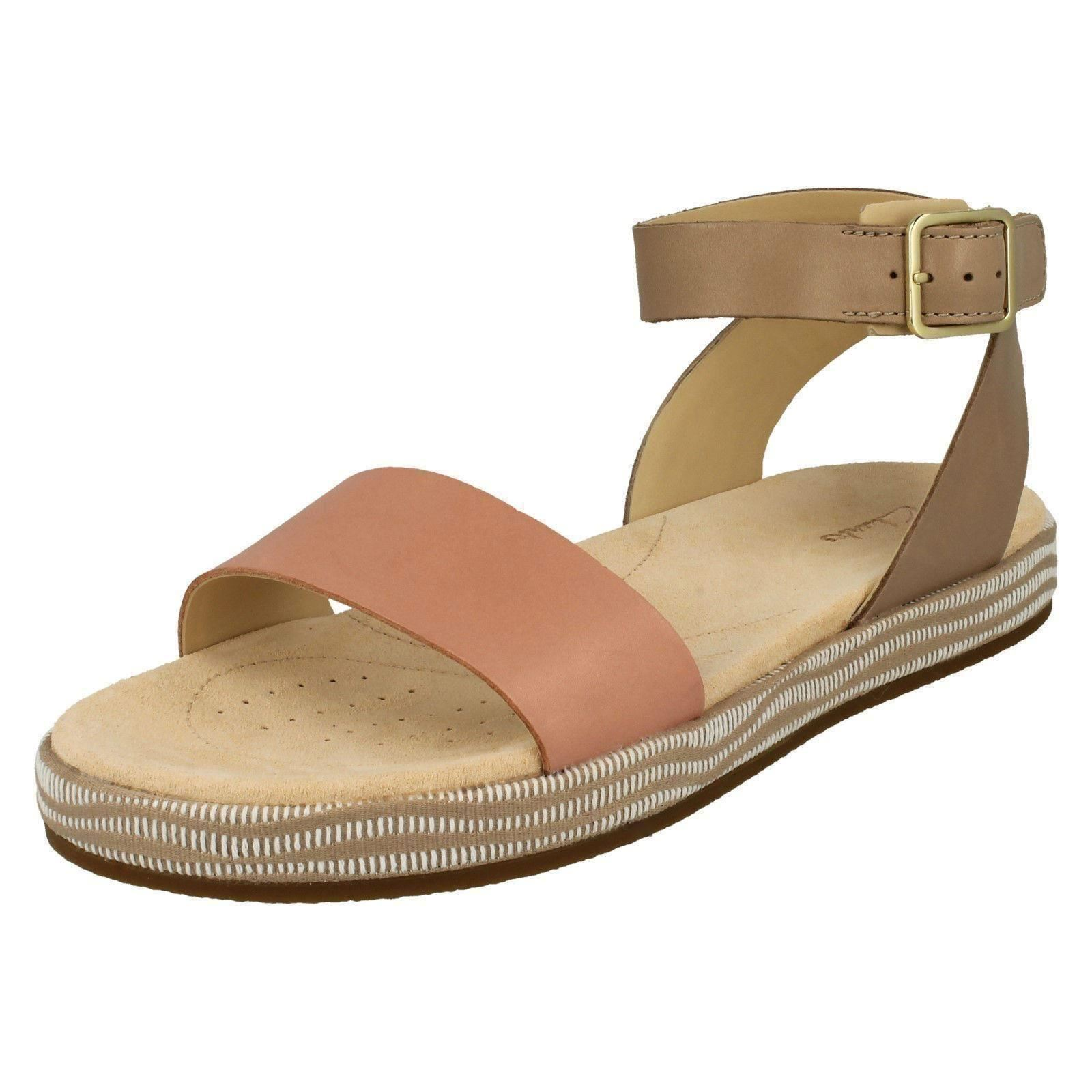 820962e09 Clarks Botanic Ivy - Sand Combi (beige) Womens Sandals 6 UK. About this  product. Picture 1 of 10  Picture 2 of 10 ...