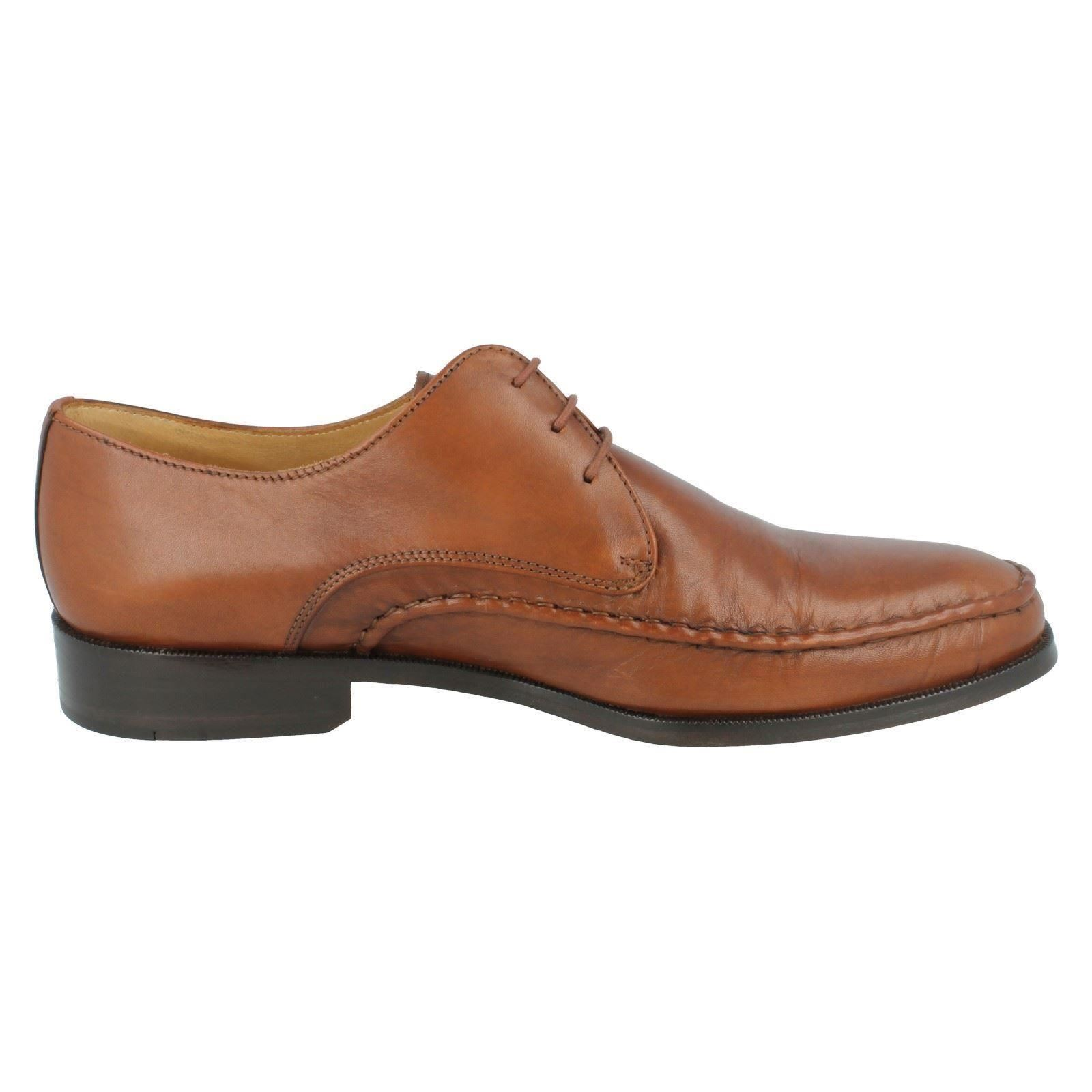 Mens Grenson Feathermaster Formal Shoes Label - Mazzola 5501