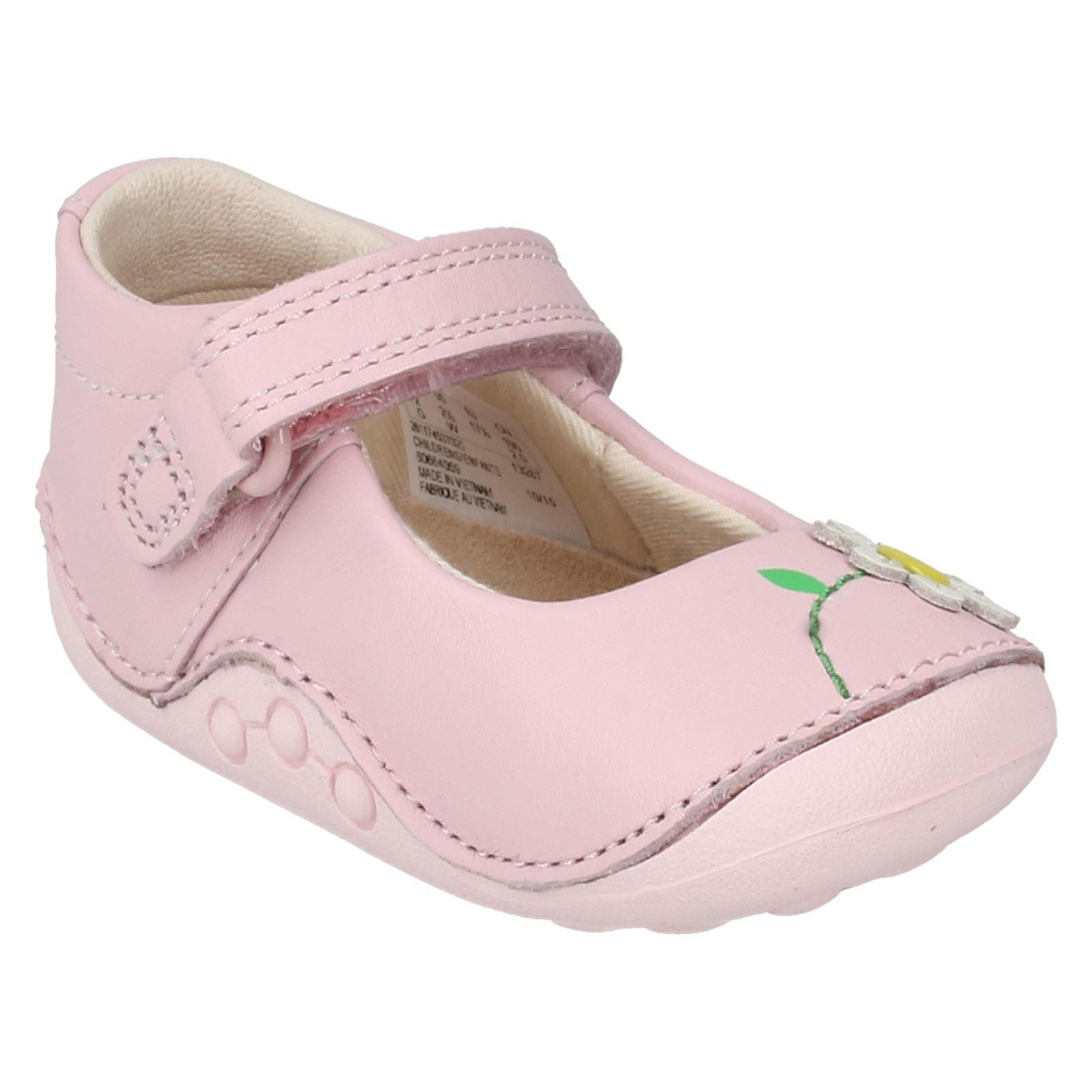 Girls Clarks First Shoes Label Little Jam