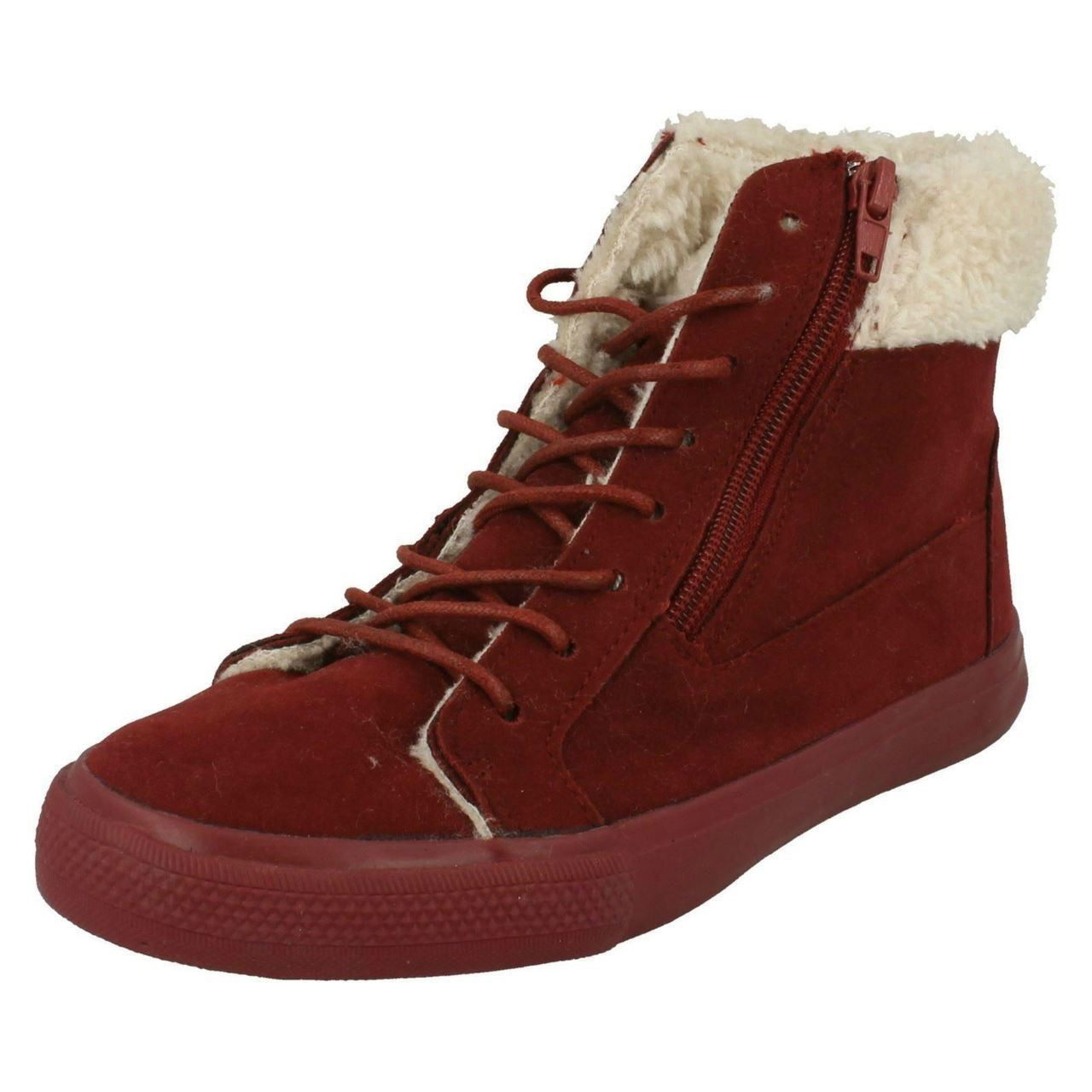Girls Spot On H4102 Casual Winter Boots ~ K