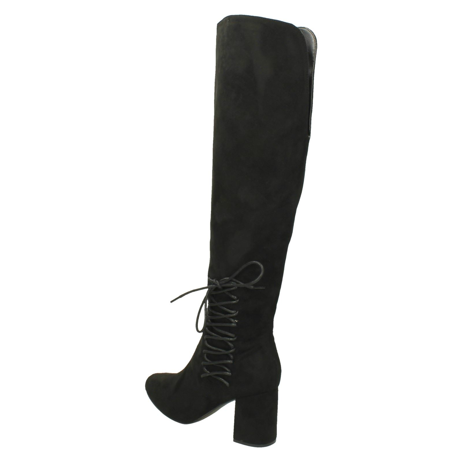 Olb787 Knee The Ladies High Style Dolcis Emrma Black Boots wxAwHqF7B