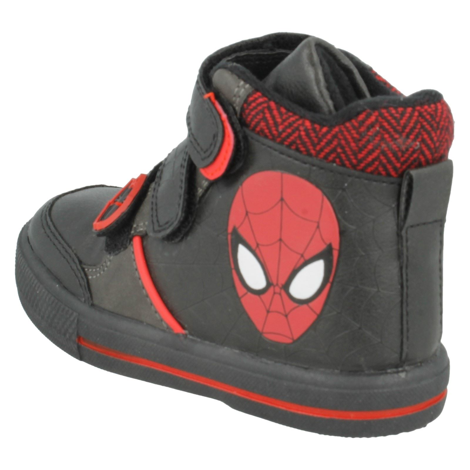 Boys Spiderman Casual Boots Crawl