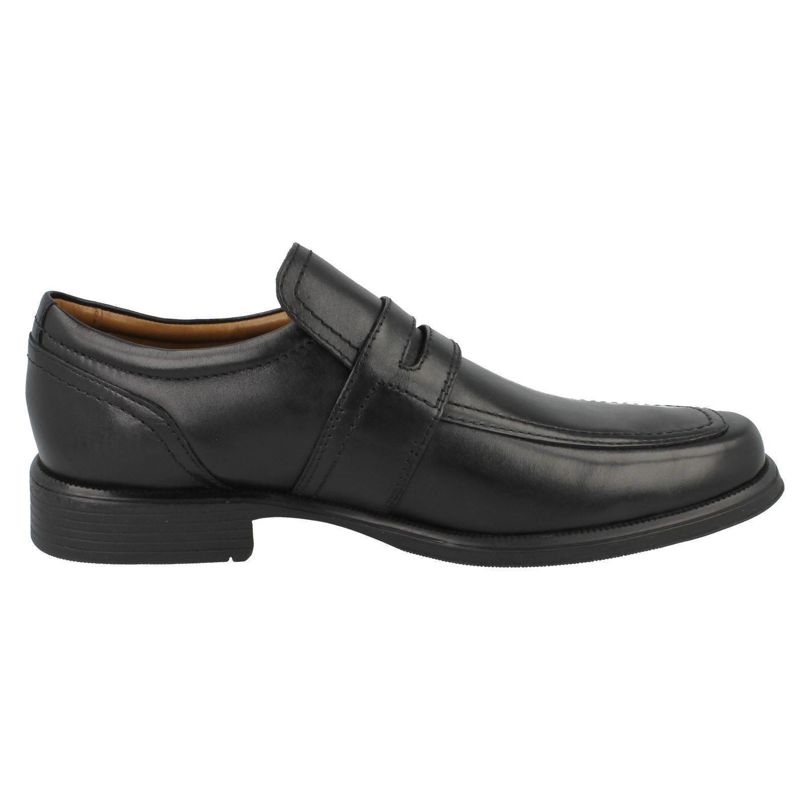Para Hombre Clarks Fomal Slip On el Zapatos el On estilo-huckley trabajo 901536