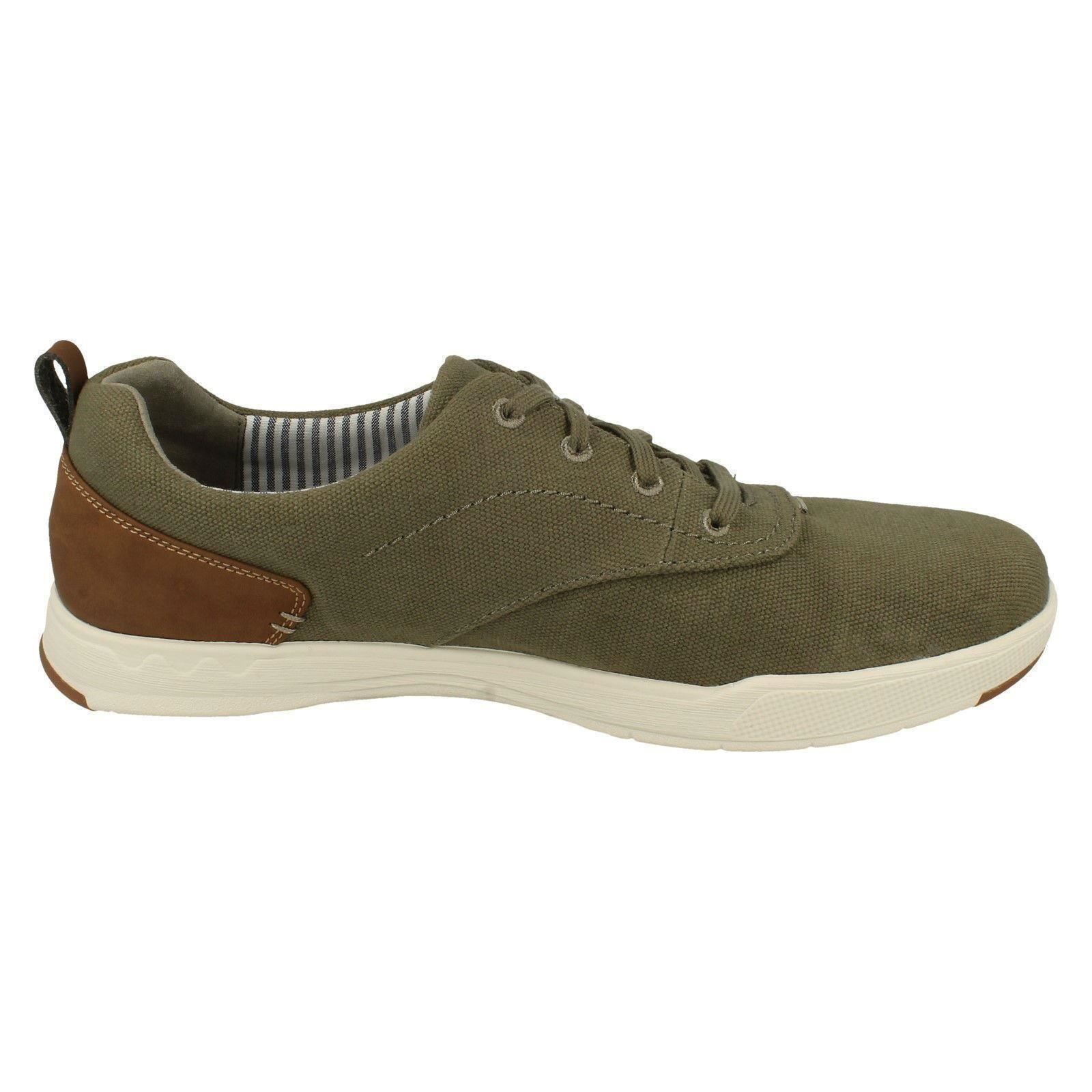 Mens Mens Mens Cloudsteppers by Clarks Lace Up Canvas The Style - Step Isle Crew 75a3ef
