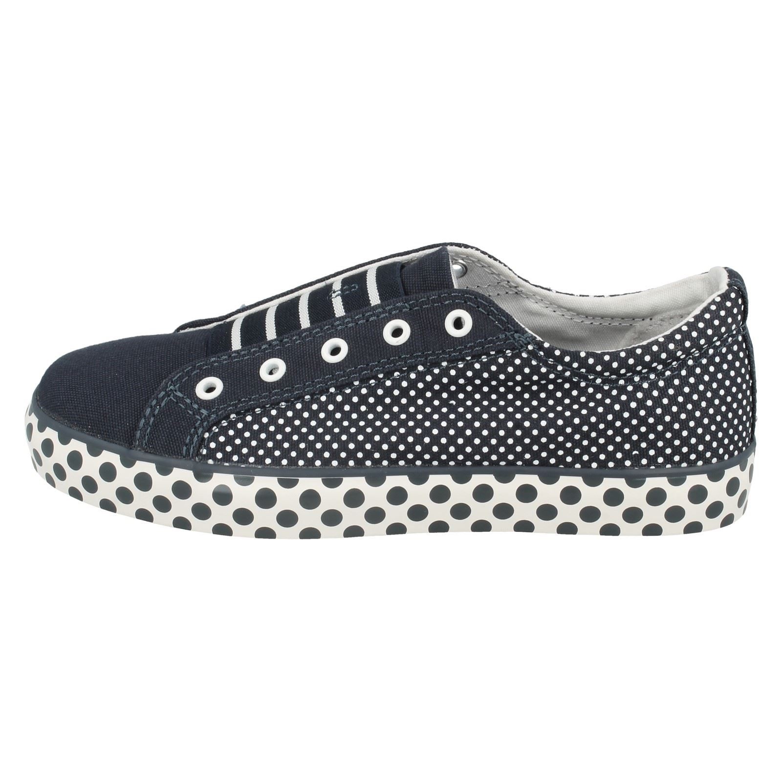 Girls Clarks Canvas Shoes The Style Brill Lace