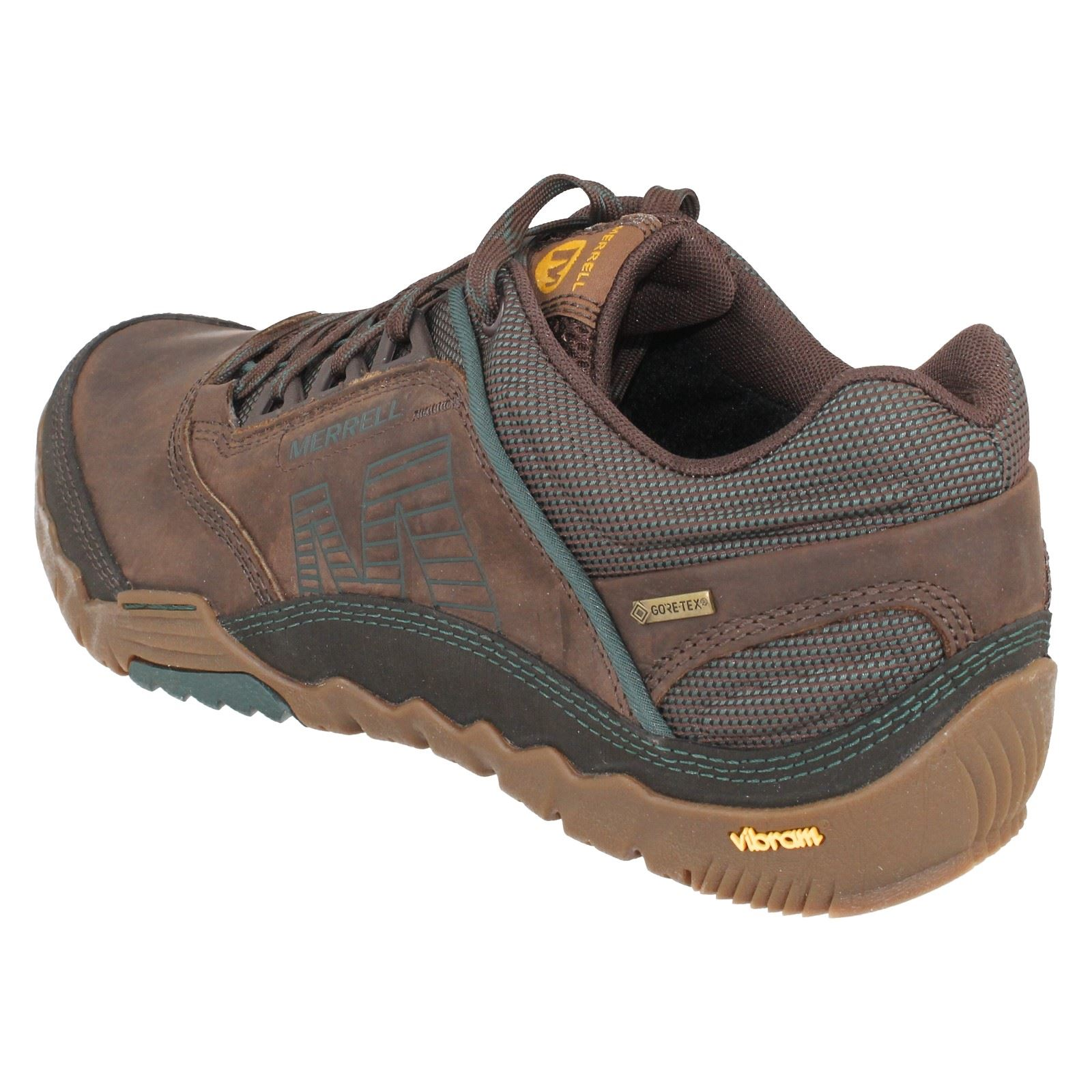 Mens Merrell Annex GTX Gore-tex Leather Waterproof Trainer Style Style Style J32191 b732d9
