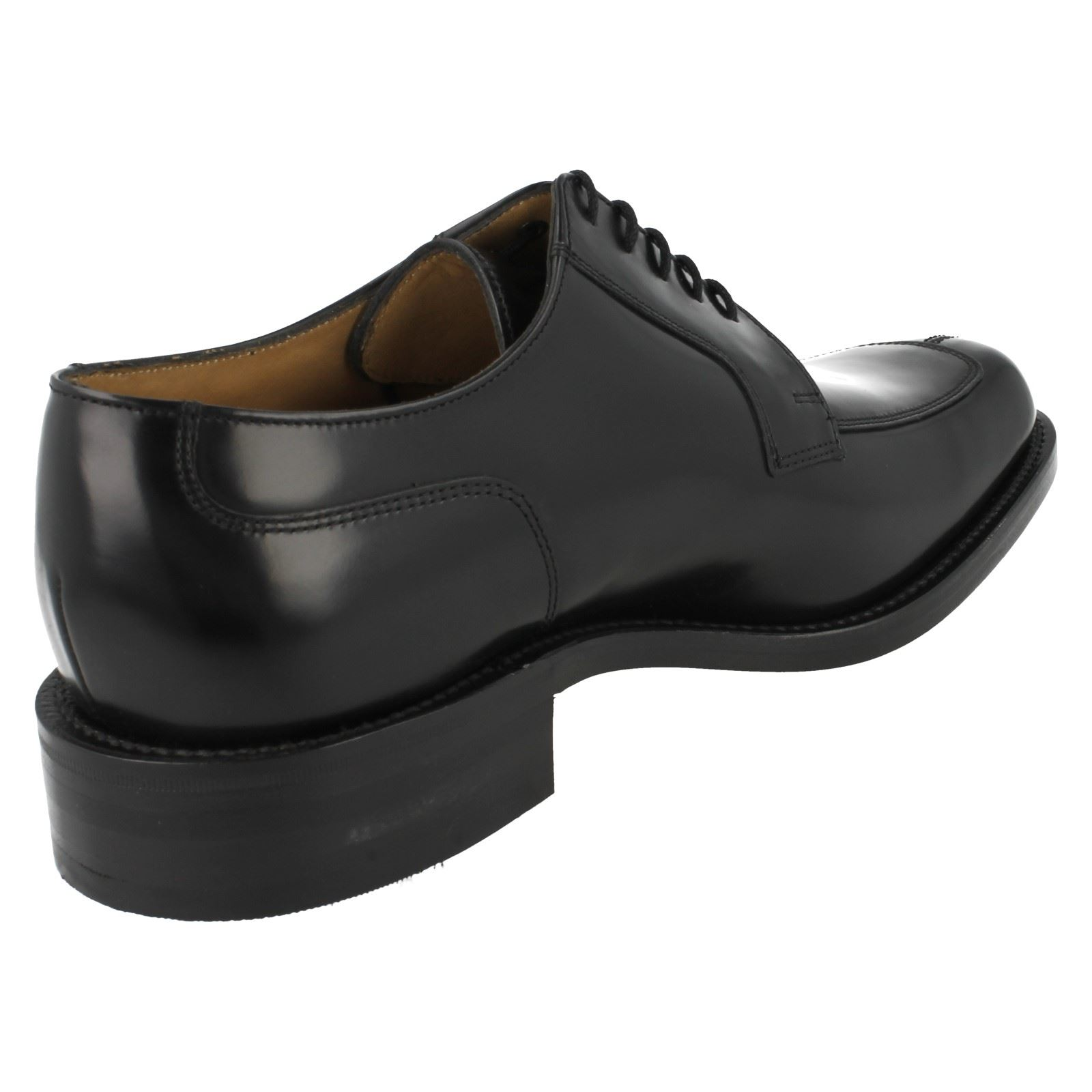 Mens Loake Formal Black Leather Shoes Style - 1303B