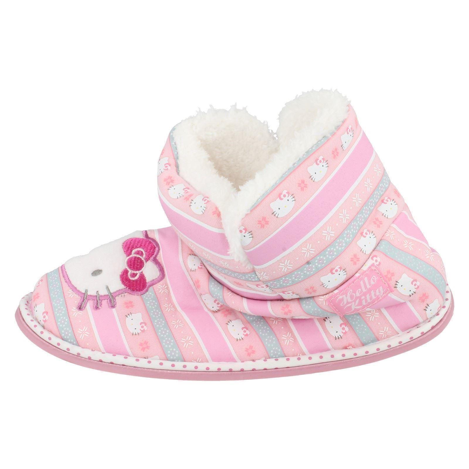 Niñas Hello Kitty Zapatillas Botas Etiqueta 320 / 3193