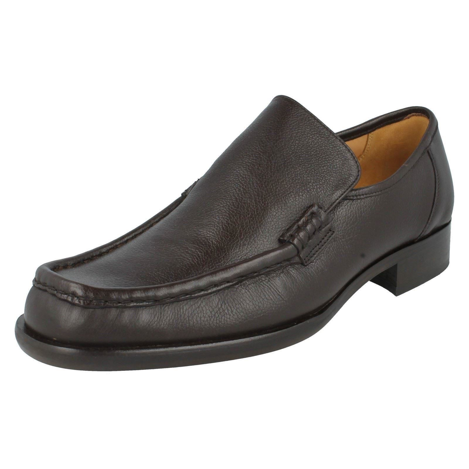 Uomo Grenson Formal Slip On Label Moccasin Schuhes Fitting F Label On - Dean 9637 fa767f
