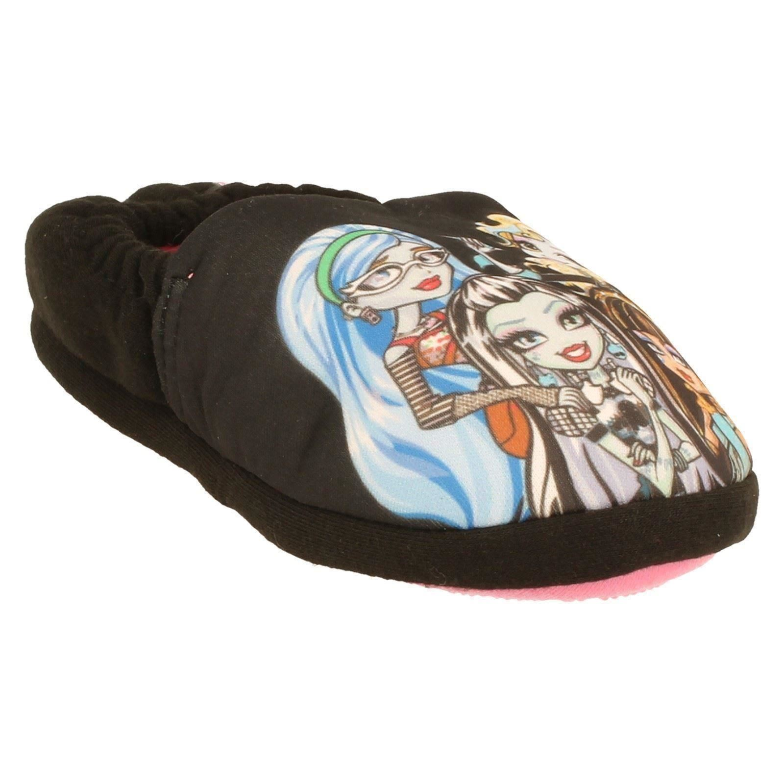 Chicas MONSTER HIGH Zapatillas Estilo 3D Big Vamp Print-W