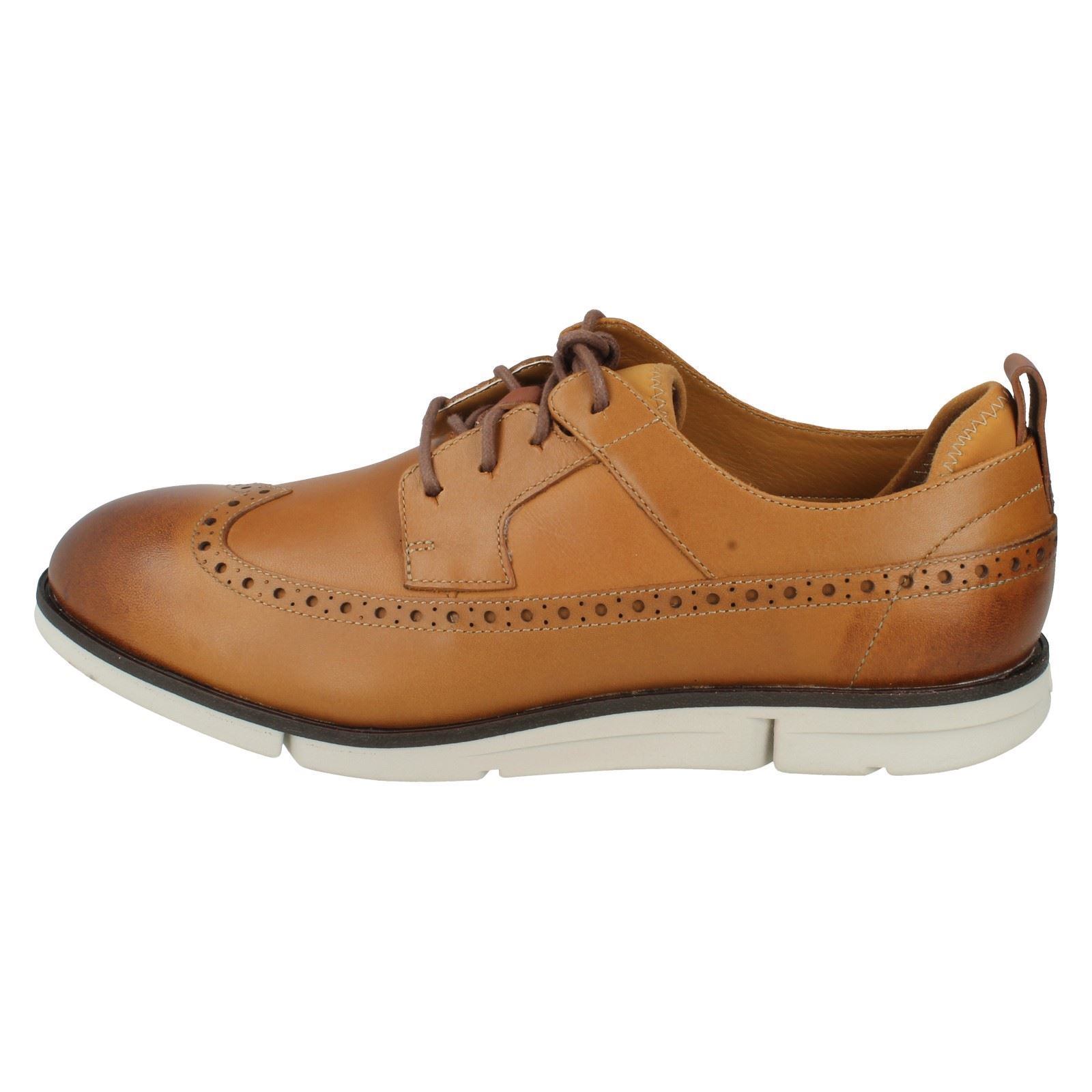 Men's Clarks Smart Lace Up Shoes Label - Trigen Limit