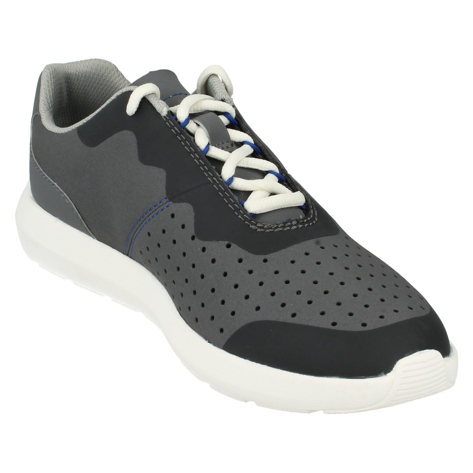 Men's Clarks Cloudsteppers Lace Up Lightweight Trainers Torset Vibe