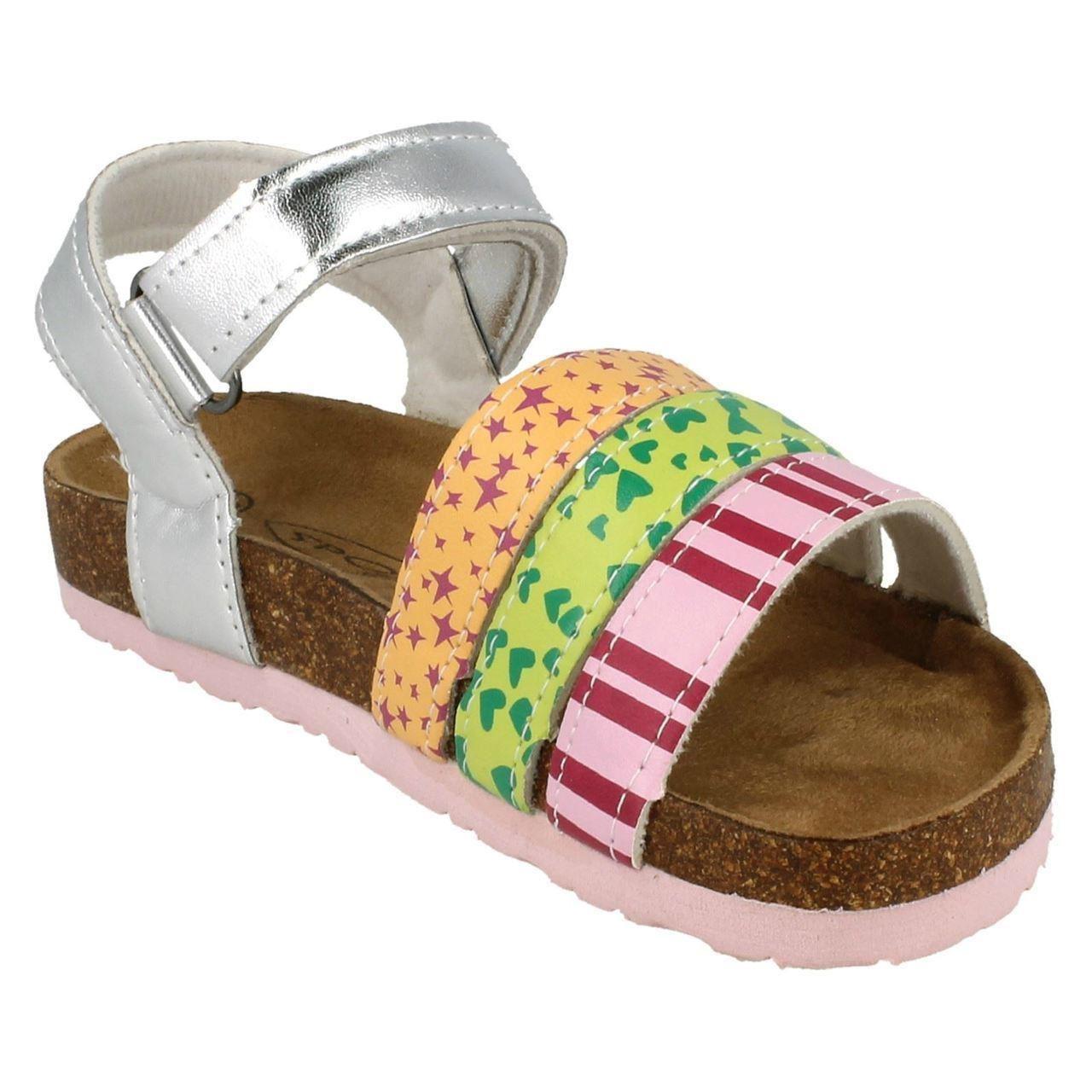 Girls Spot On H0164 Summer Sandals ~ K