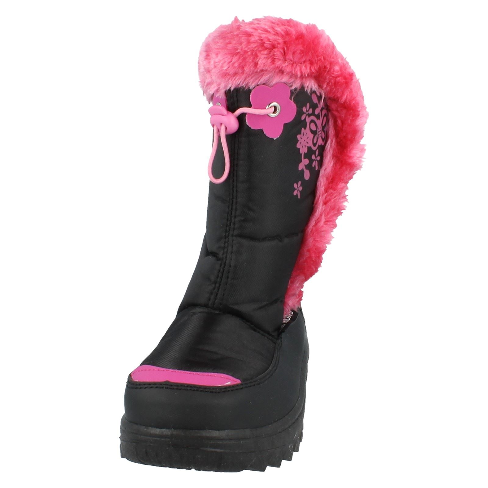Chicas snowfun Botas con ribete de piel estilo - 8.51102