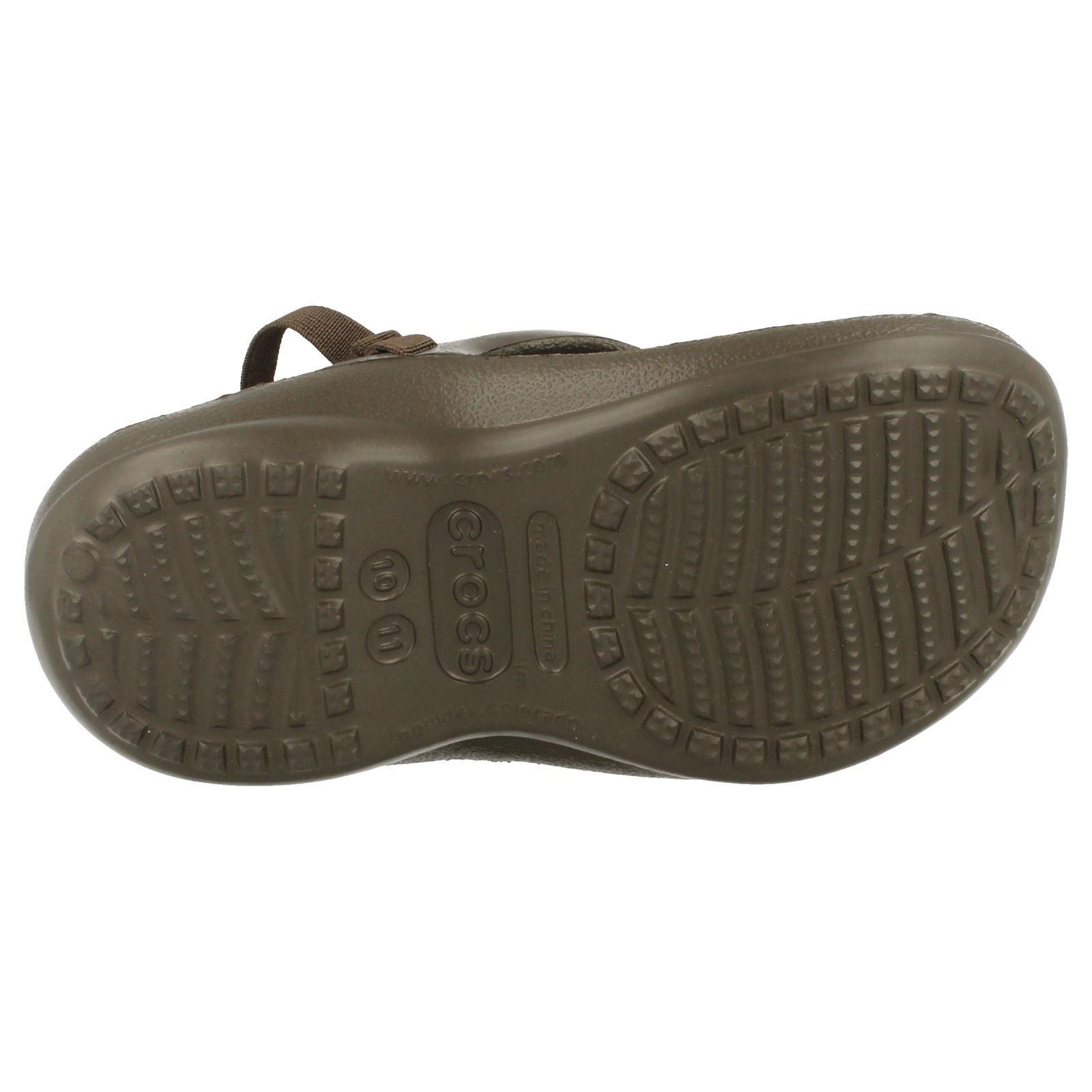 Childrens Unisex Crocs 'Athens' Slingback Toe Posts ~ K