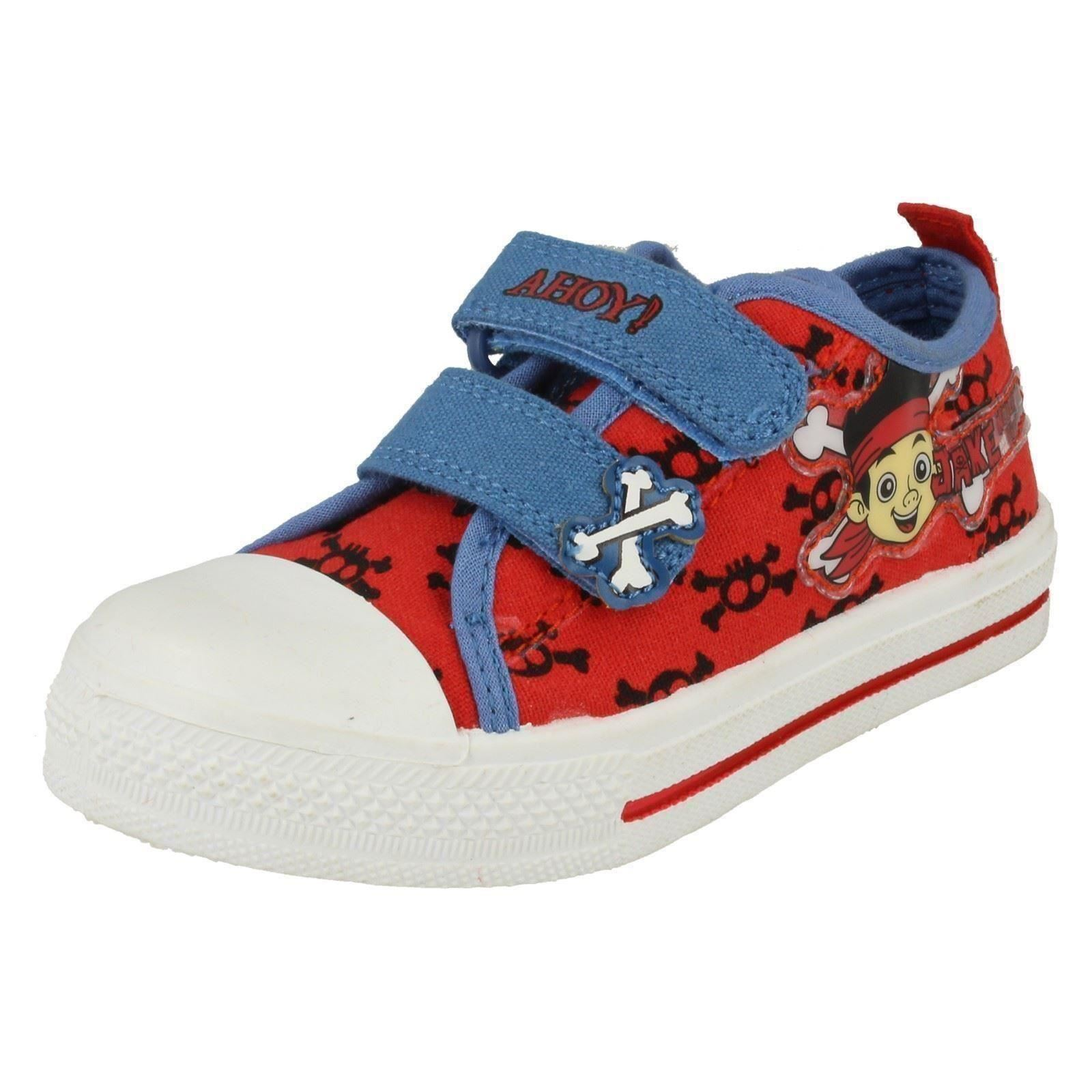 Chicos Disneys Zapatos De Lona Etiqueta Jake Crossbone Lona