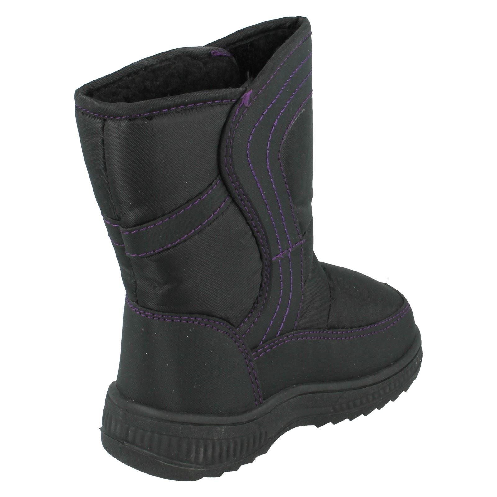 Girls Reflex Snow Boots H4072