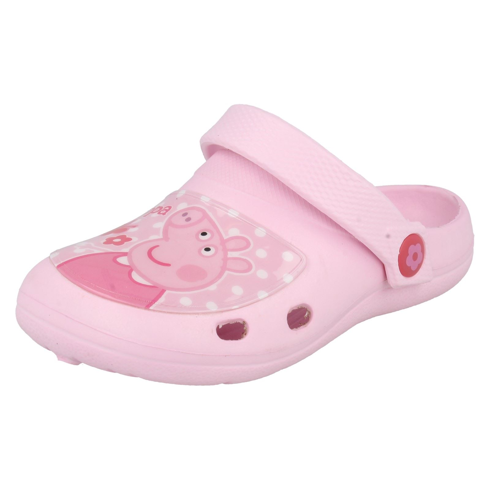 Girls Peppa Pig Clog Sandals Style - Wonder EVA Clog