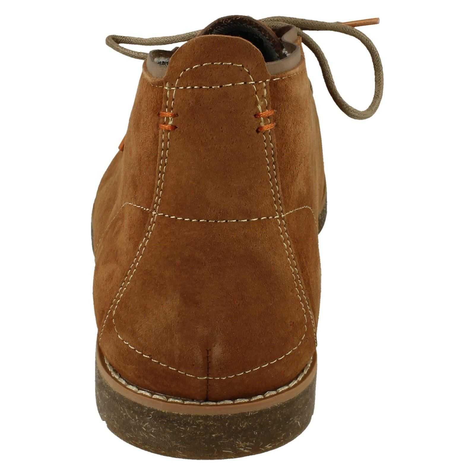 Hombre Hombre Hombre Hush Puppies Roland Jester Desert botas ~ K de0f8d