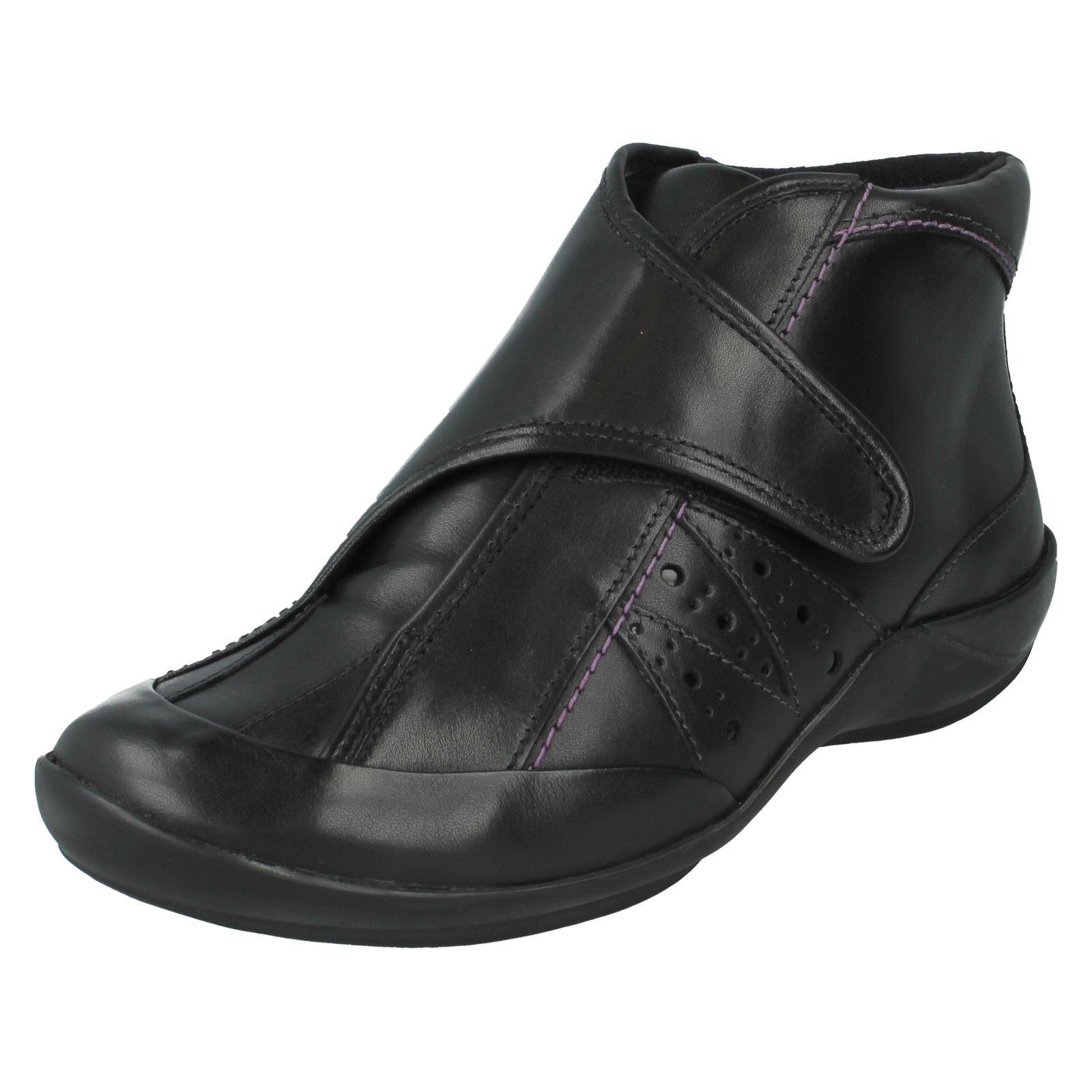 Ladies K by Clarks Wide Fitting Ankle Boots The Style - Mizzle Fine