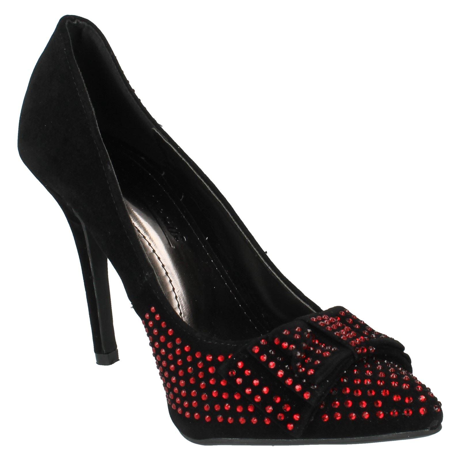 Señoras Anne Michelle Zapatos Tenis Etiqueta L2276
