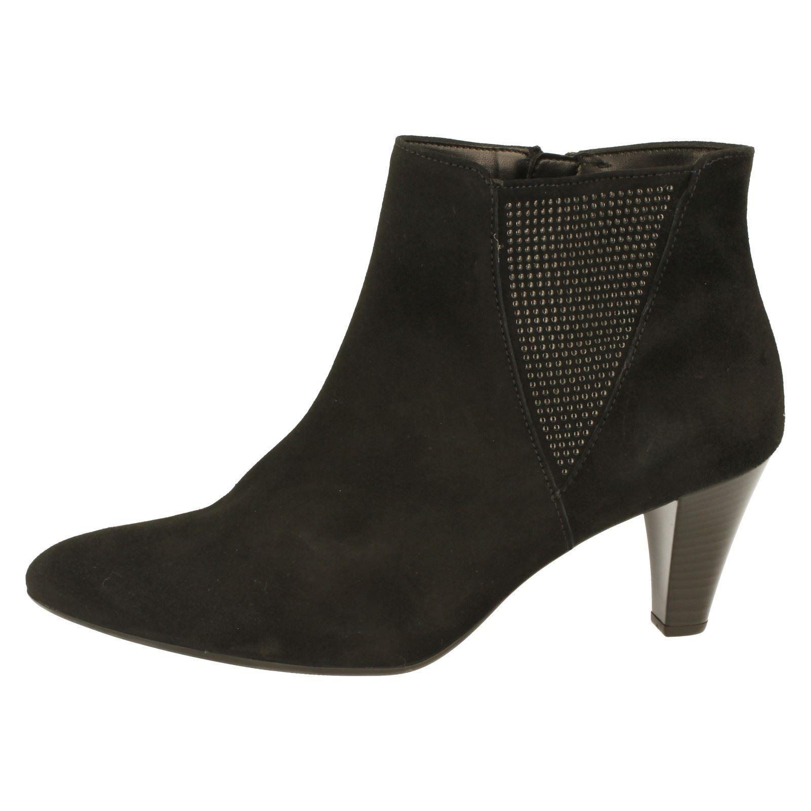 schwarz 701 Gabor Boots Ladies Ankle Style w Schwarz The 31 ZqpWaH