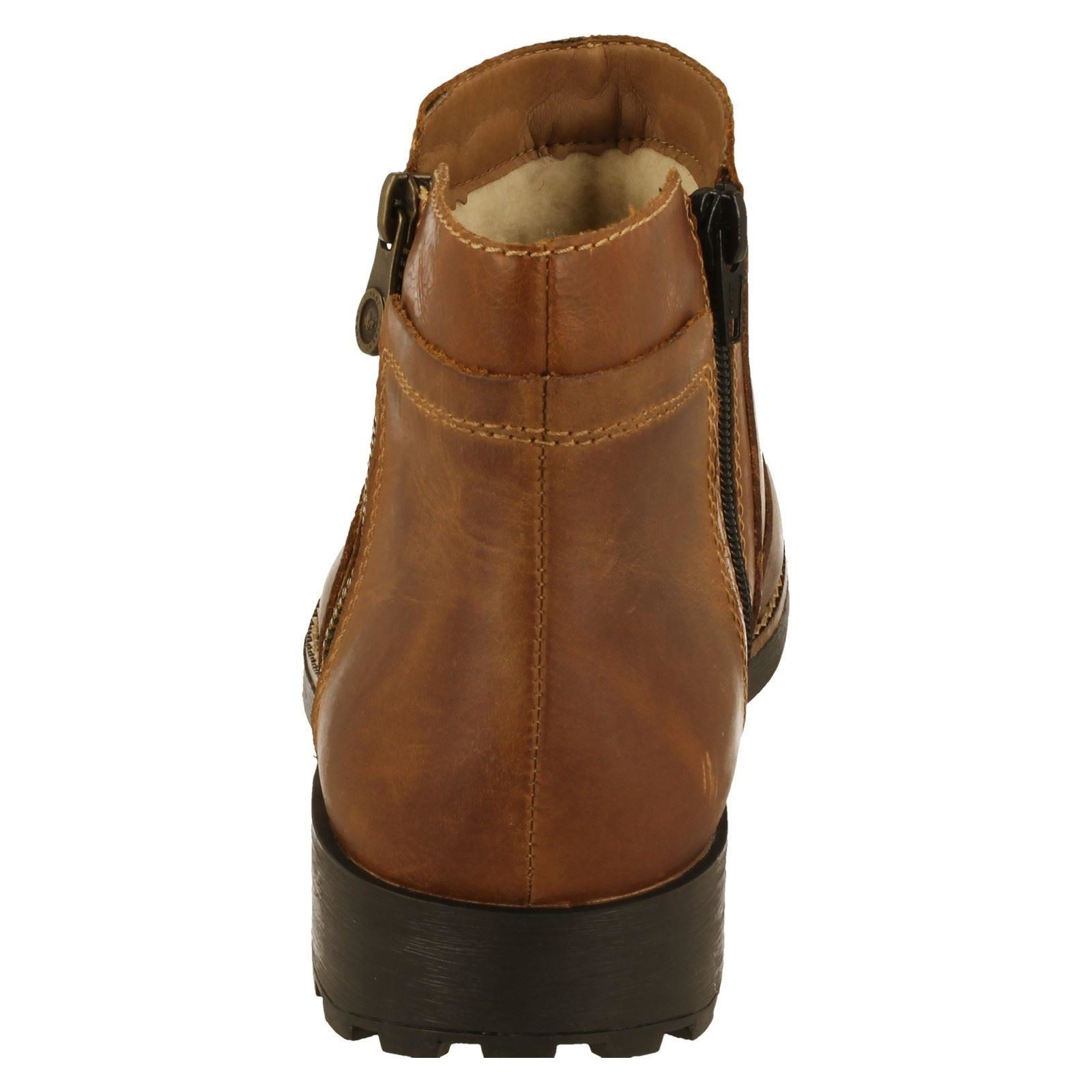 Mens Rieker Warm Lined Boots Label 36083-W