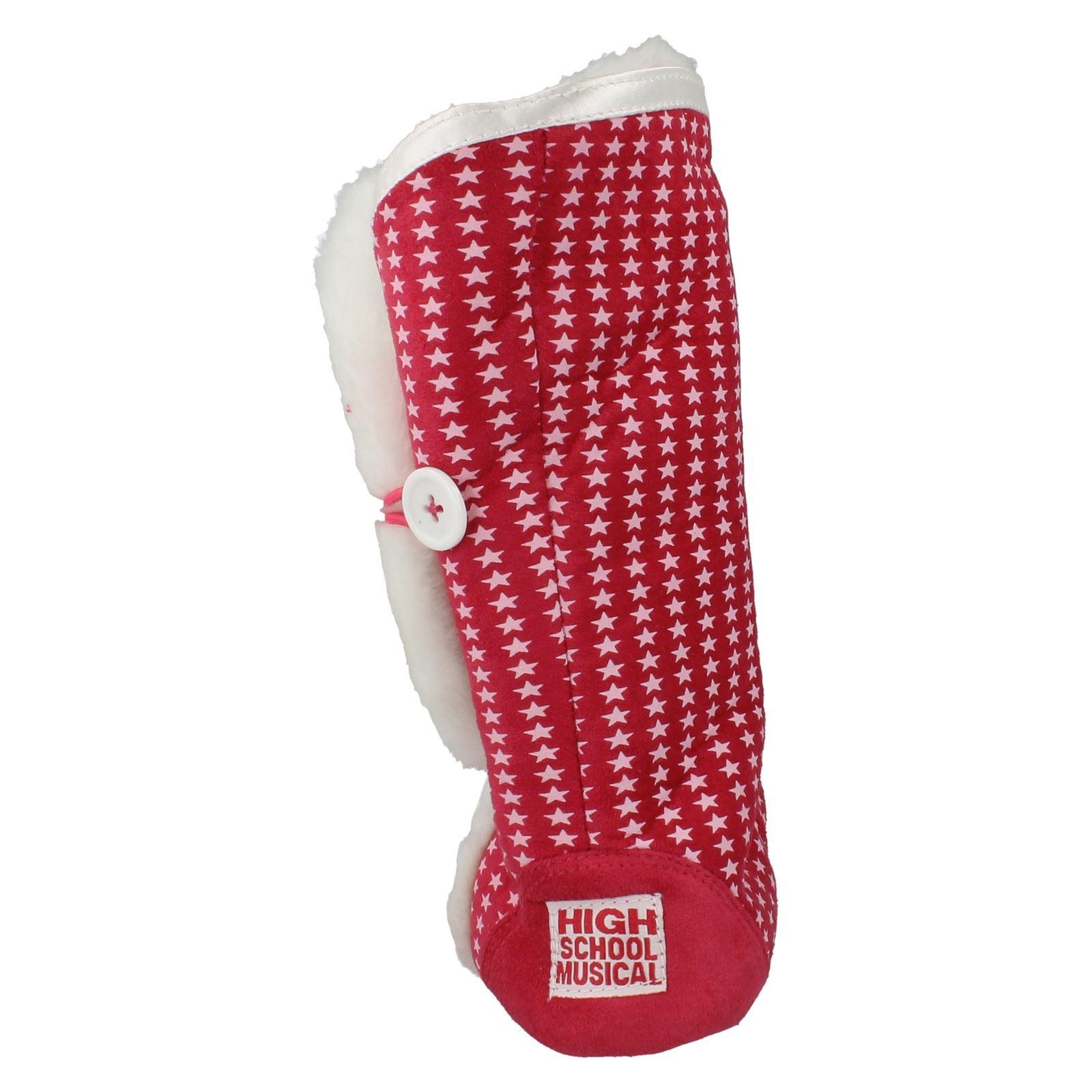 Girls High School Musical Slipper Boots Label HSM