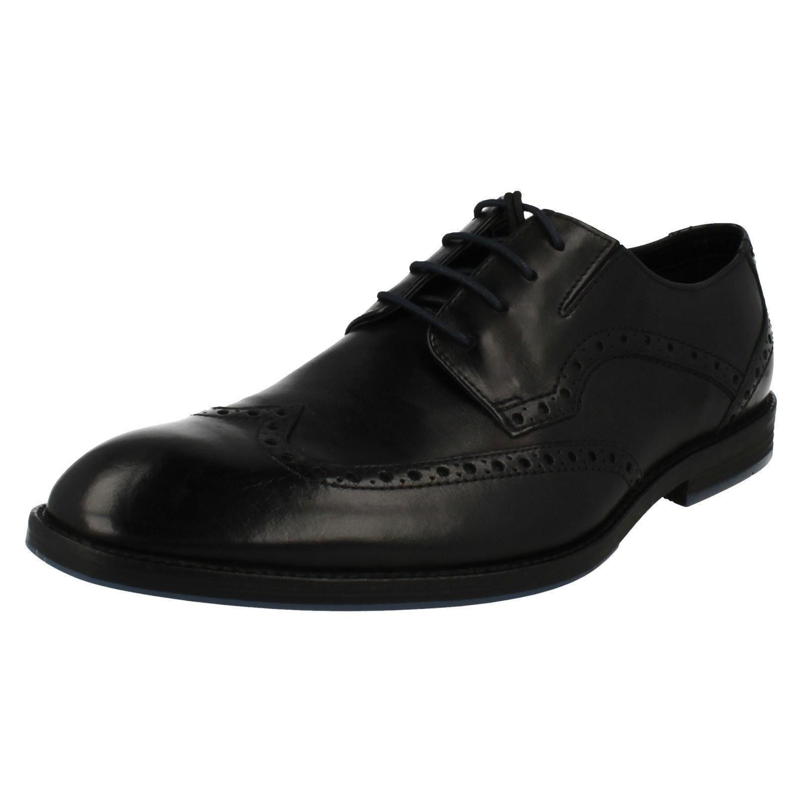 Men's Clarks - Formal Lace Up Brogue Schuhes The Style - Clarks  Prangley Limit f06993