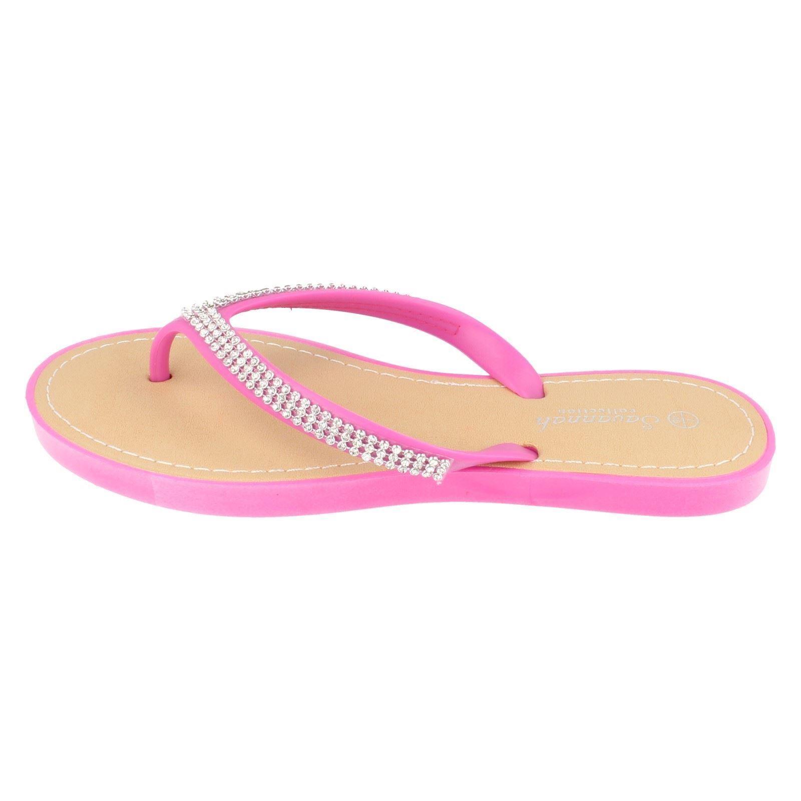 Señoras colección Savannah Flip Flop F0785 ~ N