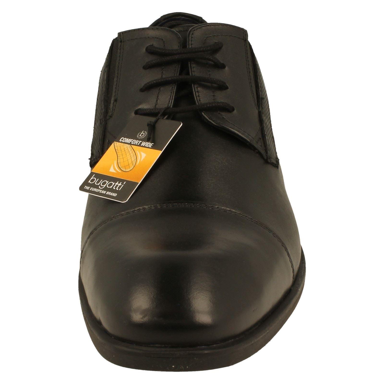 Mens Bugatti Casual Savi Lace Up Leather Shoes The Style Savi Casual Evo 23bba8