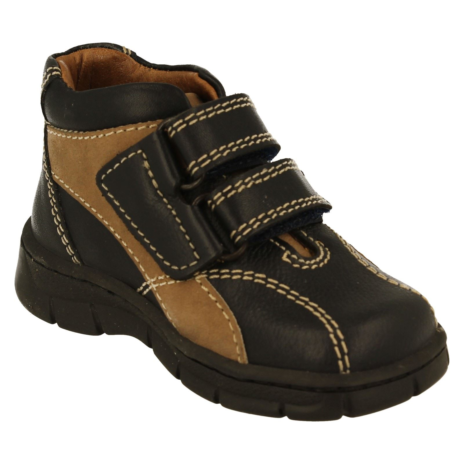 Boys Start Rite Ankle Boots Truck -W