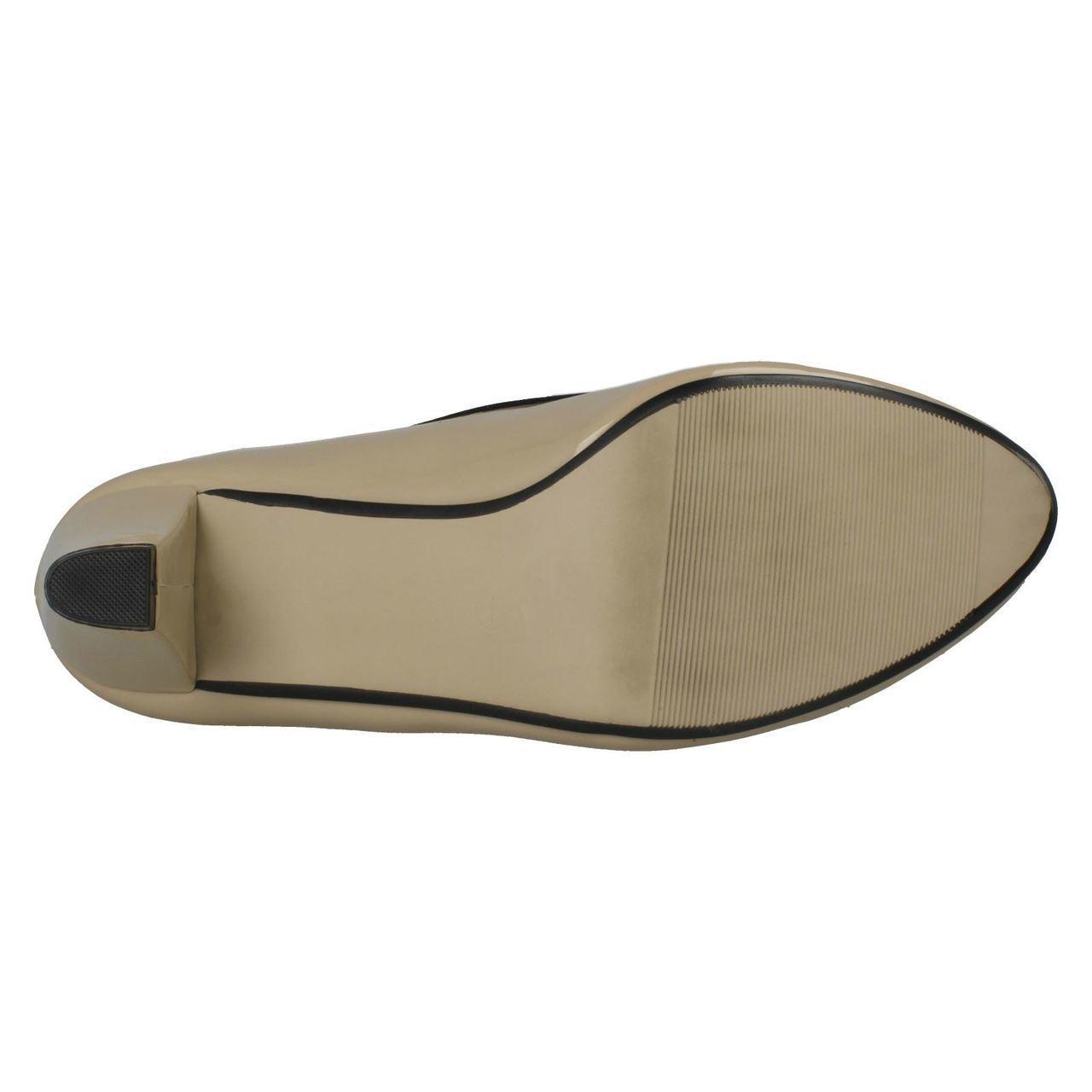 Damas Spot on F9647 patente Tribunal Zapatos Estilo ~ K