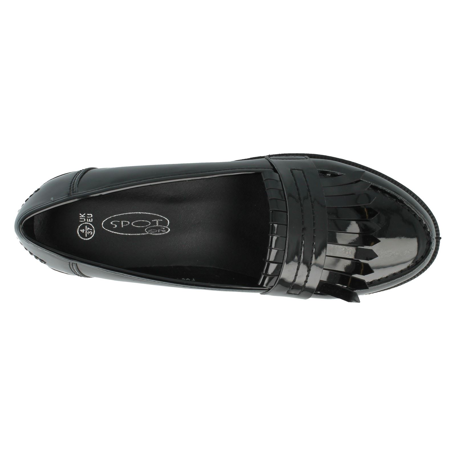 Ladies-Spot-On-Formal-Loafers-F80121